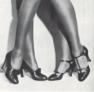 chaussure années 30