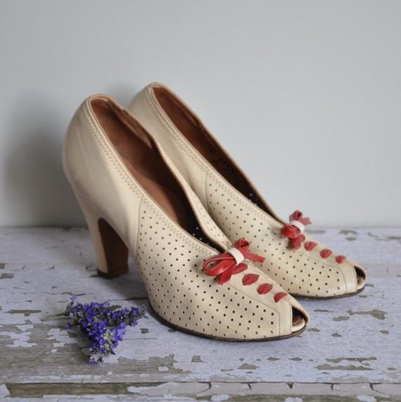 chaussure années 40