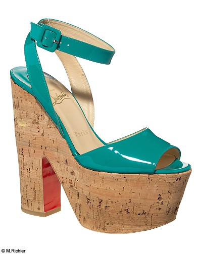 chaussure années 70