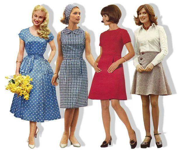mode des aannées 60