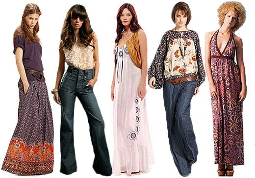 modee des années 70