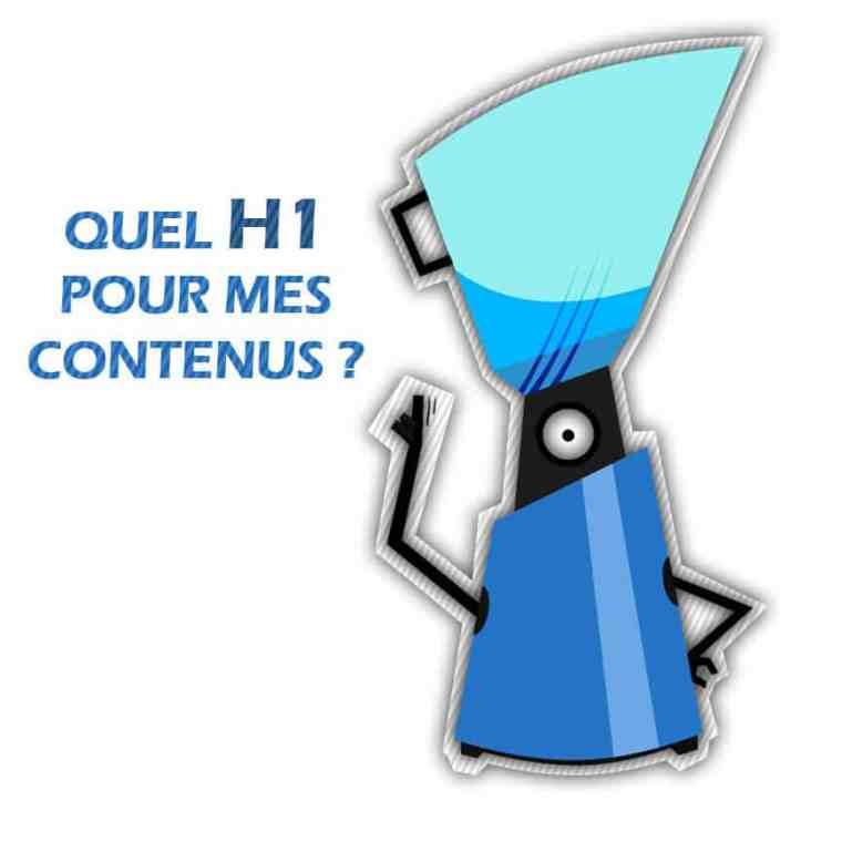 balises H1H2H3 contenu rédactionnel