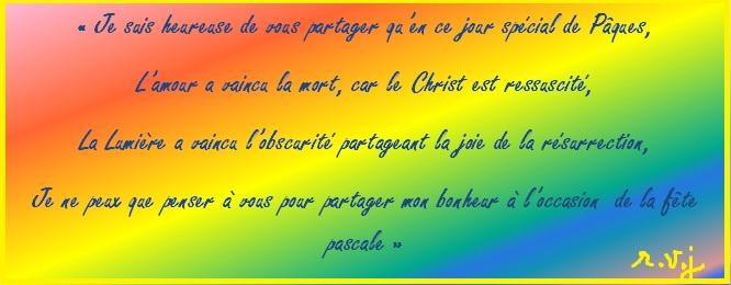 carte de voeux de pâques pour chrétiens