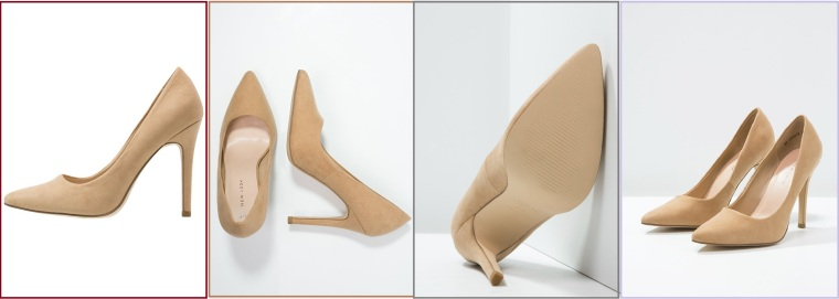 chaussures pour Pâques