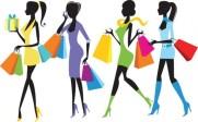au shopping les filles