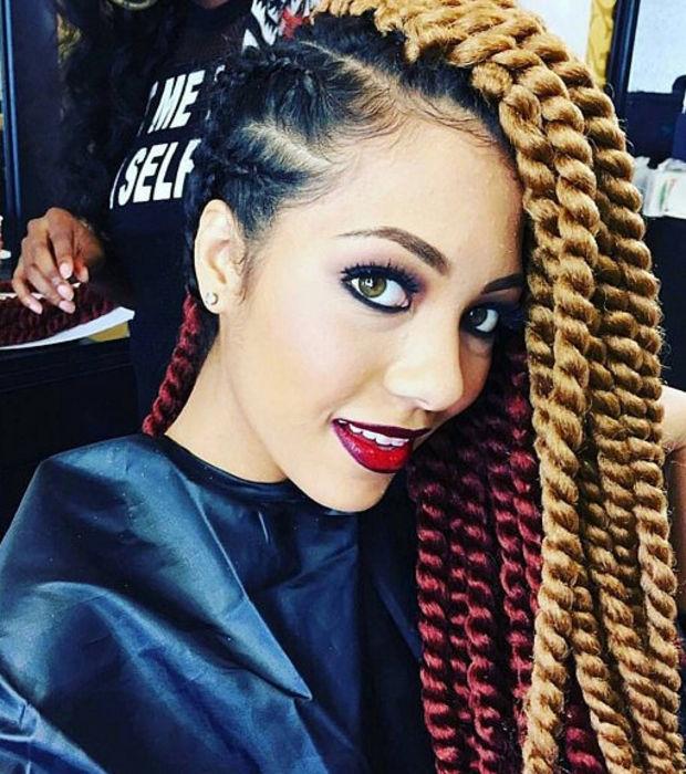 Top tresse africaine avec rajout – Blog Femme & Infos VQ09