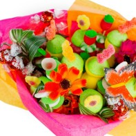 bouquet bonbons printemps