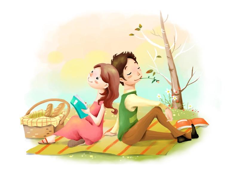 pique nique en amoureux