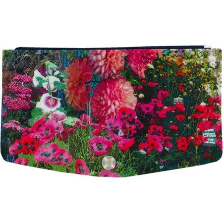 portefeuille jardin fleuriee