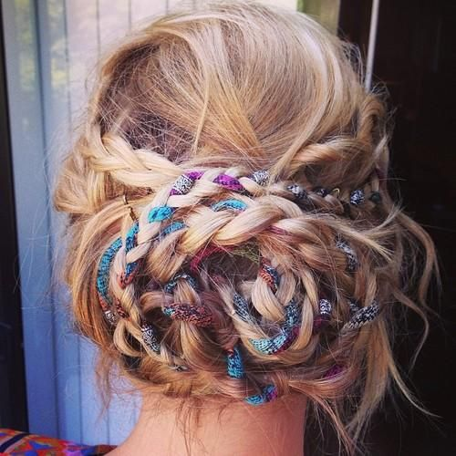 tresse boho