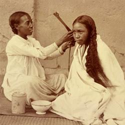 Tresse malgache à la façon primitive