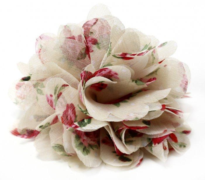 broche fleur retro pour maman