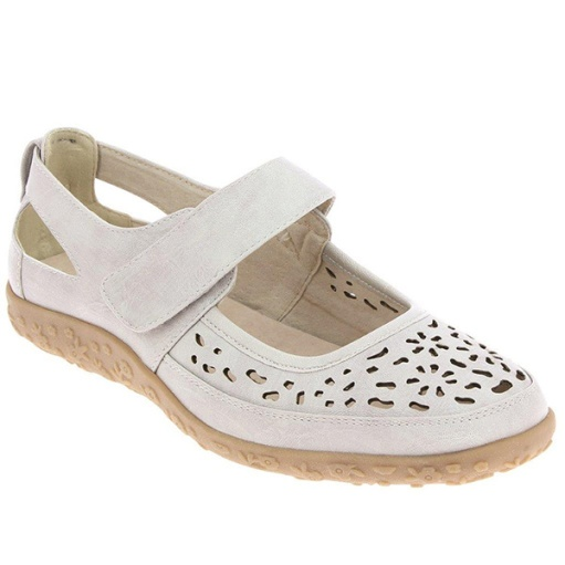 image chaussures Ballerine Malaga beige Fargeot