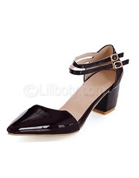 image chaussures petits talons pour dames âgées