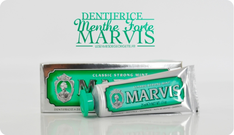 dentifrice menthe