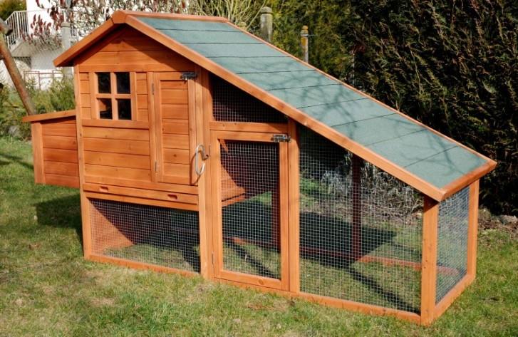 Wooden henhouse