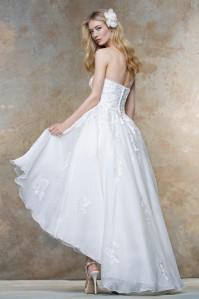 robe de mariée courte alessparis