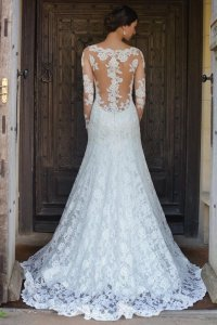 robe de mariée dentelle alessparis