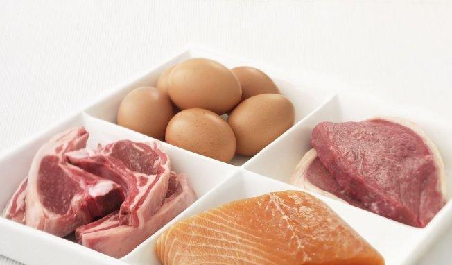 viande, poisson et oeufs