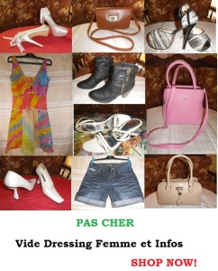 articles mode et beauté pas chers sur vide dressing femme et infos