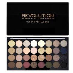ombre à paupière maquillage revolution, palette 32 ombres