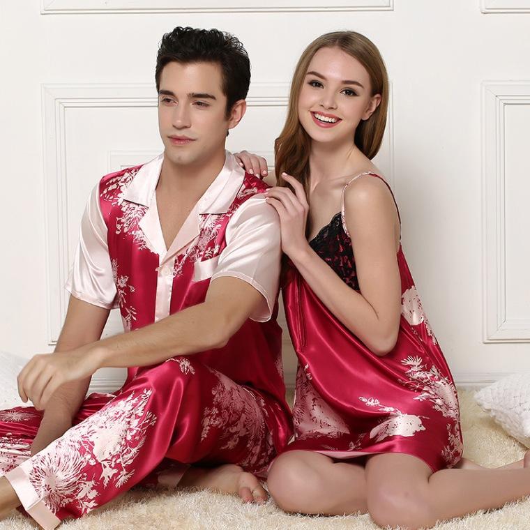 Pyjama assorti pour couple