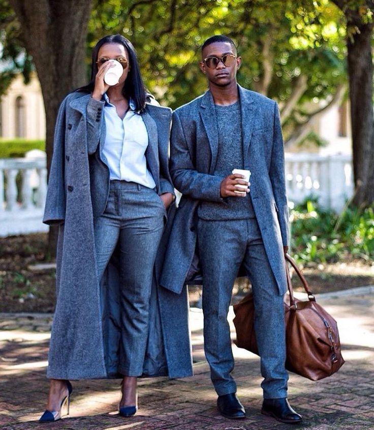 tenue de travail assortie pour couple