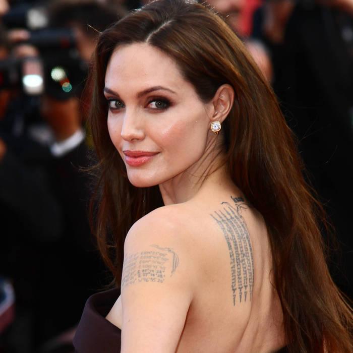 Angelina Jolie et ses tatous