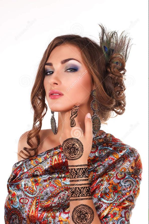 art corporel au henné 1