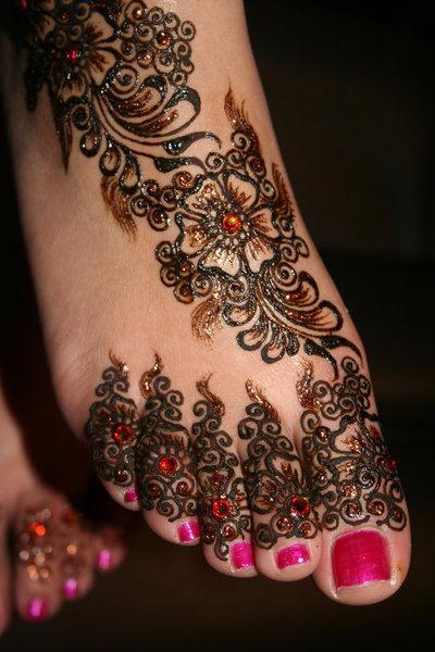 art corporel au henné 3