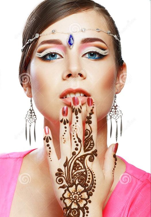 art corporel au henné