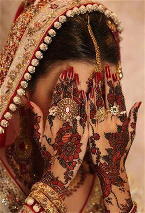 indian wedding henna designs