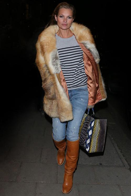 Porter la marinière à la façon Kate Moss