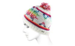 Capcho bonnet flocon couleur