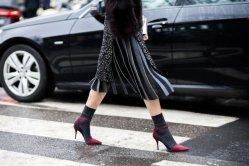 Sandales avec chaussettes