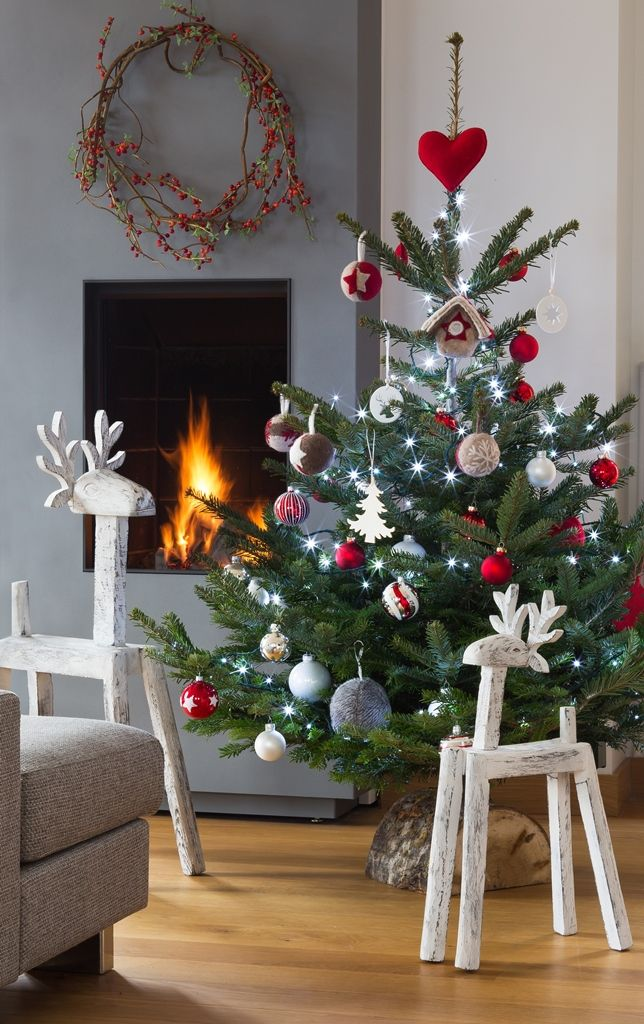 decoration-maison-noel-faite-maison-sur-pinterest