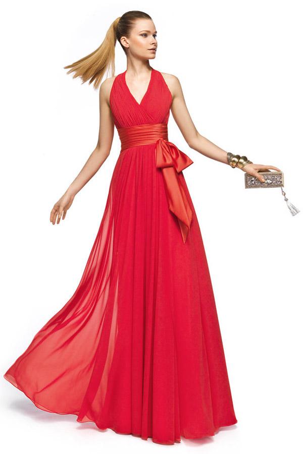 Morgan rorete robe de soiree rouge