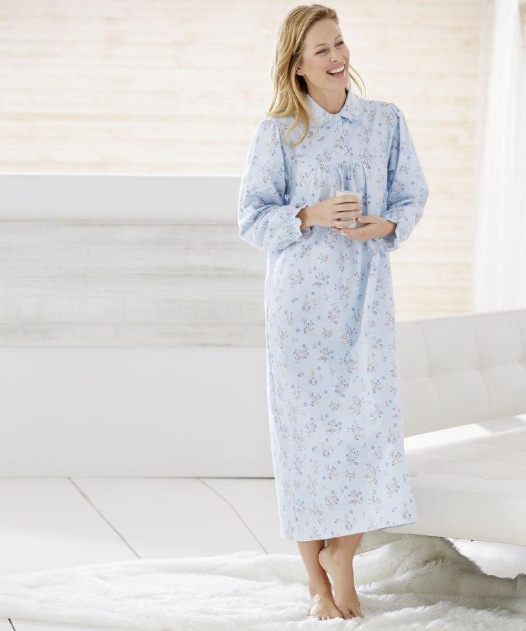 chemise de nuit en flanelle femme chemise nuit homme. Black Bedroom Furniture Sets. Home Design Ideas