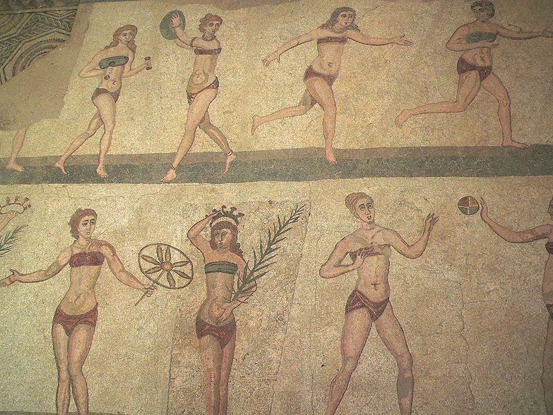 bikini romaine