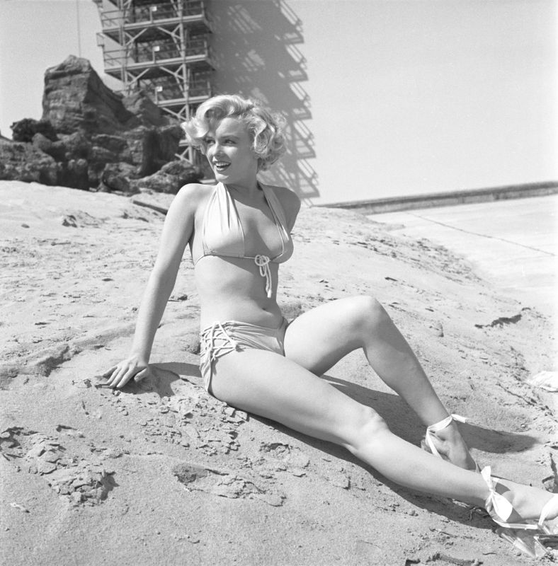 Marilyn Monroe Portrait Session