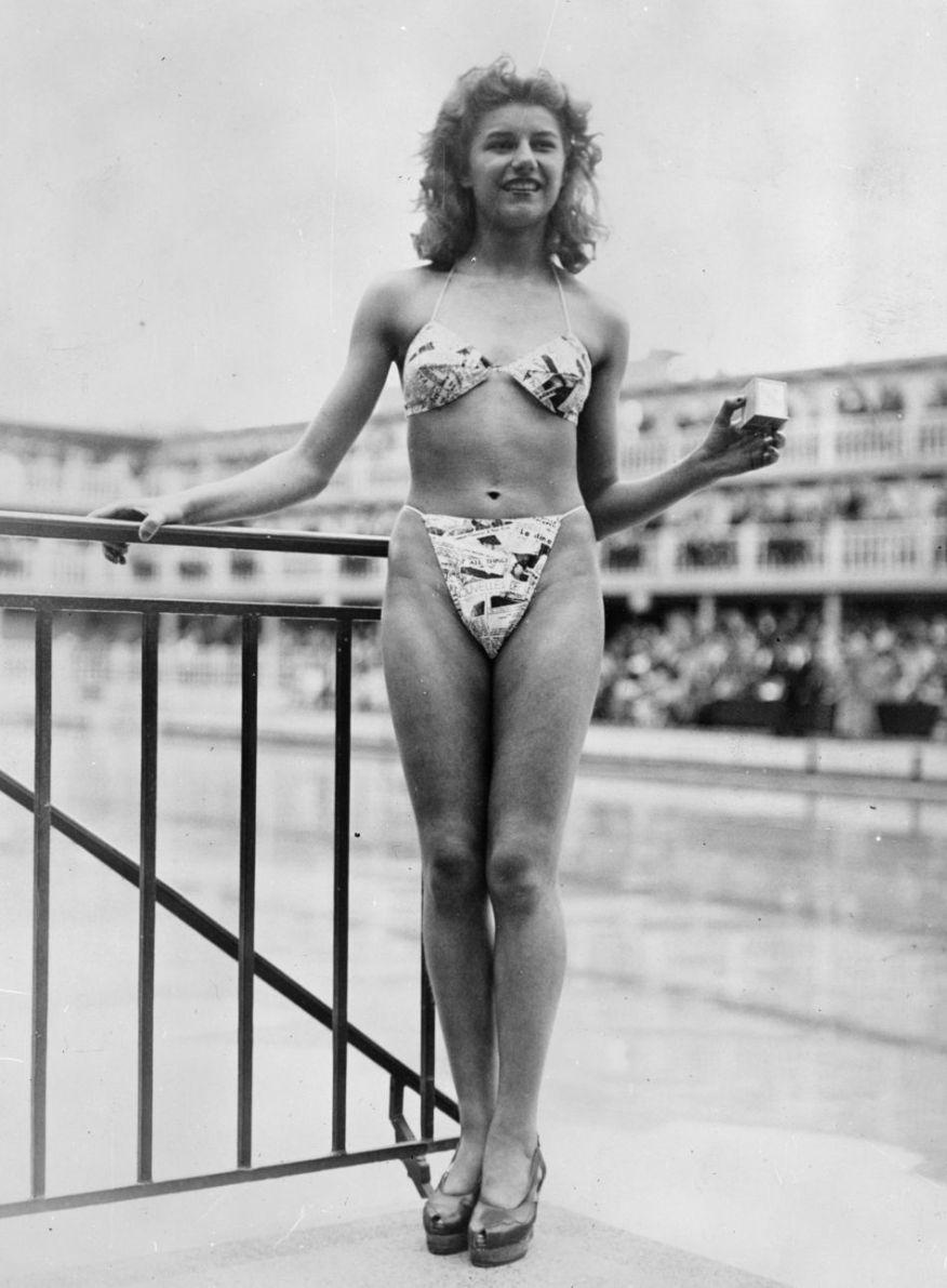 micheline bernardini en bikini