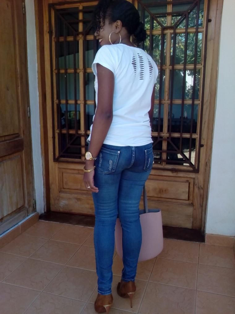 comment porter le t-shirt blanc1