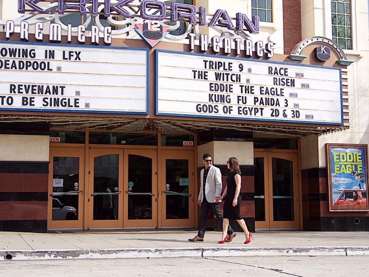 sortie au cinéma en couple