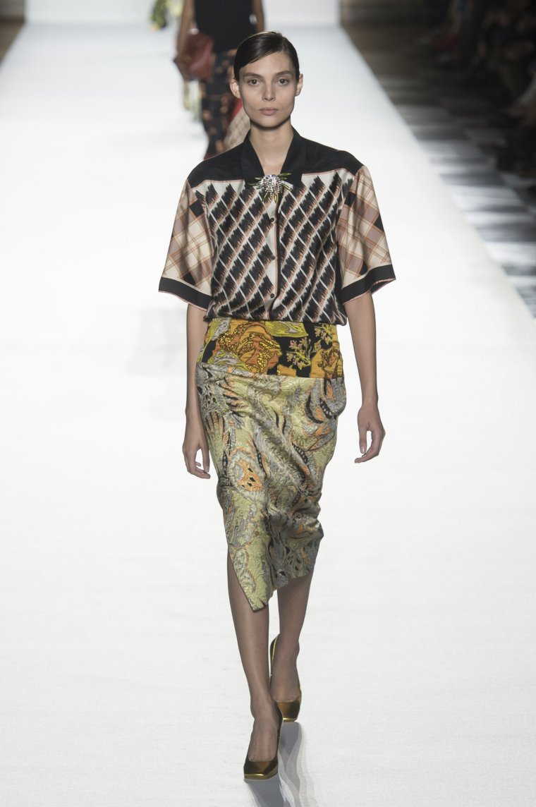 Tendance foulard Dries Van Noten 10