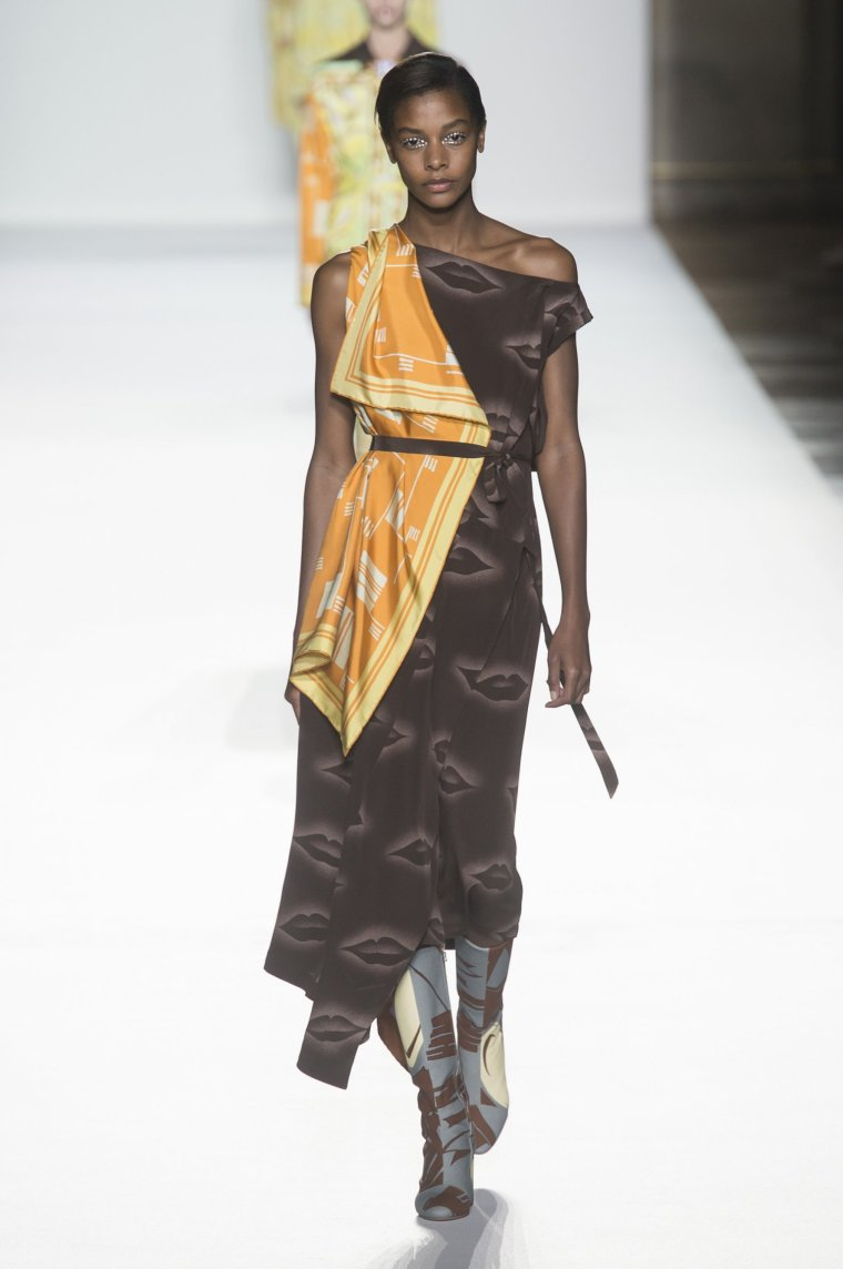 Tendance foulard Dries Van Noten 3
