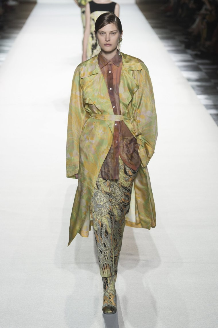 Tendance foulard Dries Van Noten 5