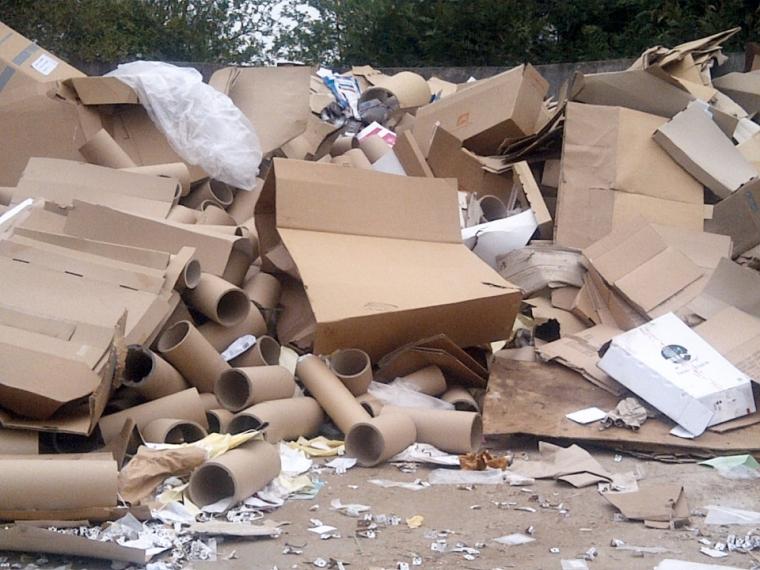 recyclage carton