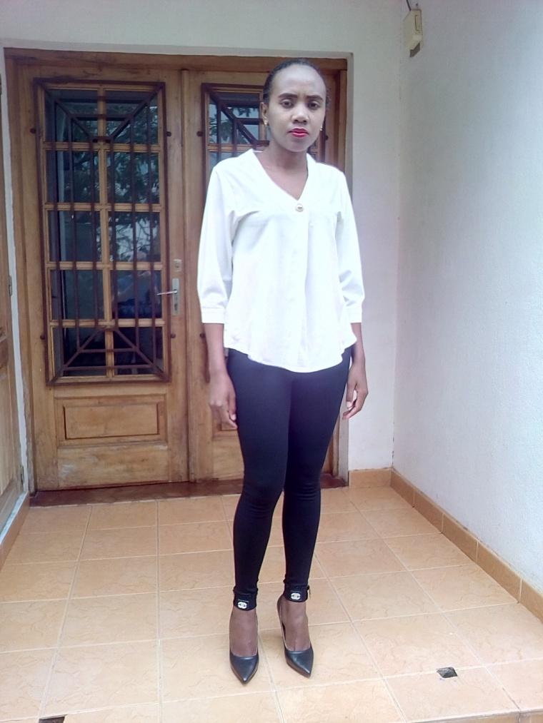 porter du noir et blanc