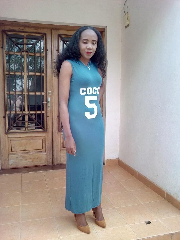 porter une robe longue1