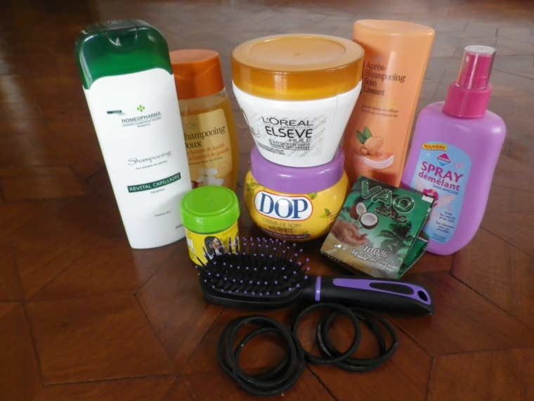 produits soins cheveux après lissage